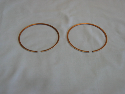 """WISECO PISTON RINGS  2992TDA  2.992/""""  PAIR OF RINGS TIN COATED ** 3 PACKS"""