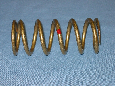 Arctic Cat Snowmobile Clutch Spring Chart